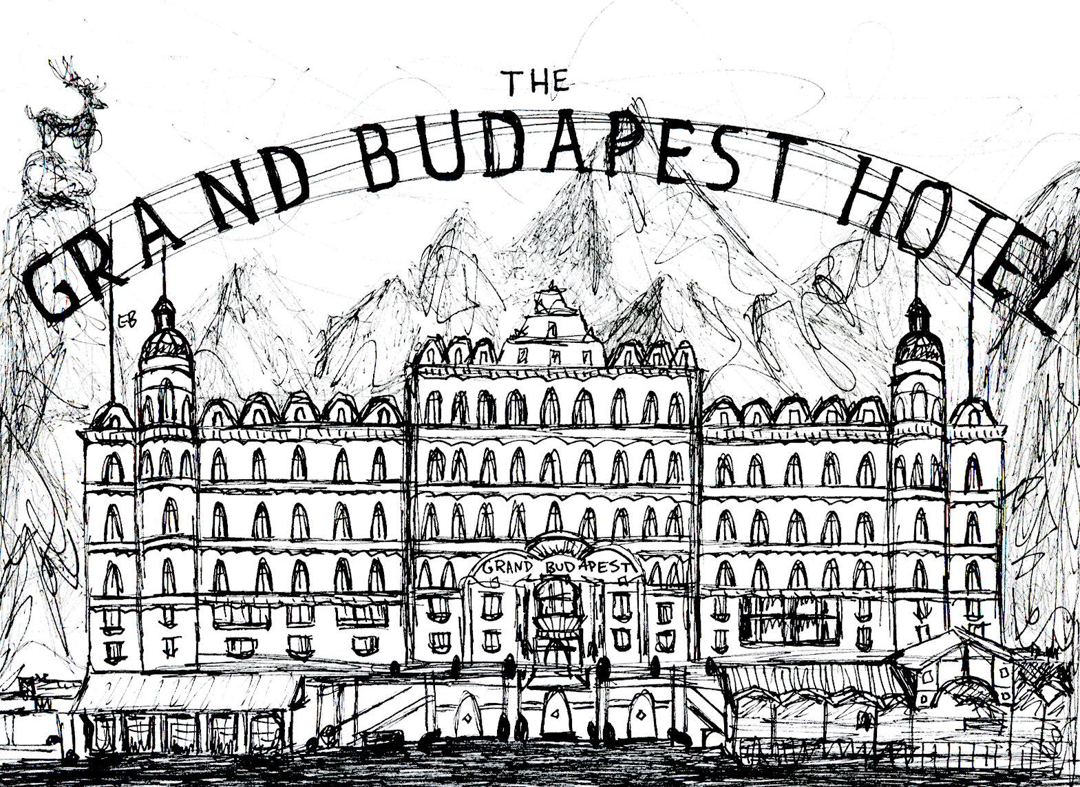 grand budapest hotel subtlety is beauty campus times liz beson illustrator