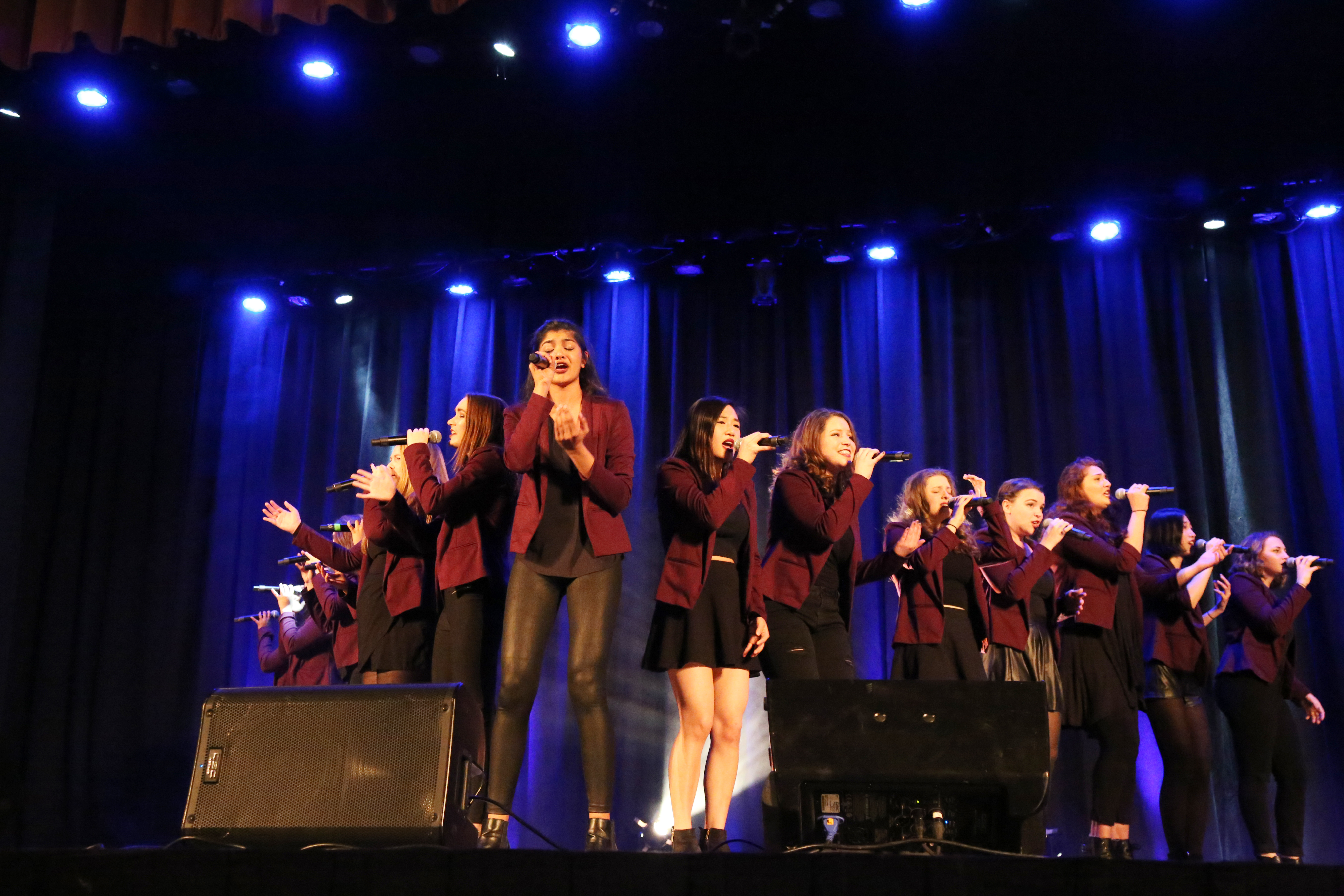 Vocal Point sends seniors off on high note - Campus Times